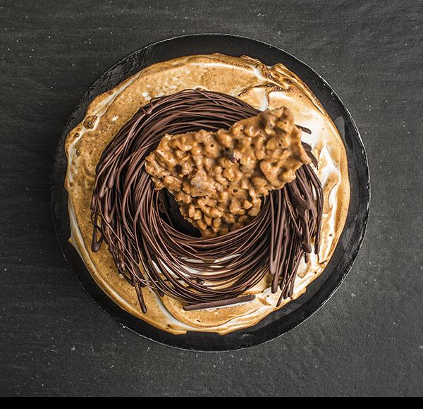 Semifreddo al croccante di nocciola